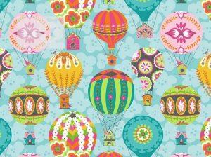 Stoff Heißluftballon Baumwolle Luftballon