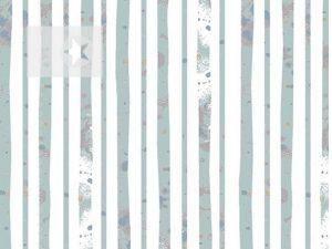 Stoff gestreift Baumwolle Streifen blau weiß