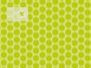 Baumwolle Stoff Punkte Kreise apfelgrün