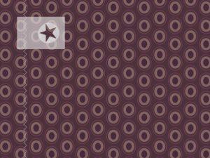 Baumwolle Stoff Punkte Kreise mocca