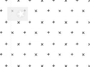 Baumwolle Stoff Kreuze weiß grau