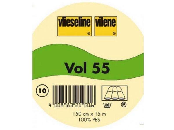 Vlieseline Volumenvlies Vol55 hochbauschig weiß