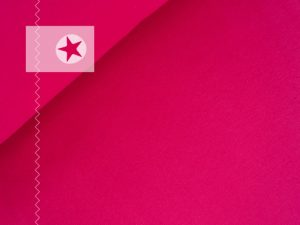 Bündchenstoff Schlauchware glatt pink