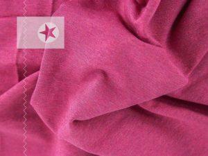 Sweatstoff angeraut uni pink