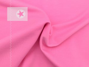 Jersey Stoff uni rosa