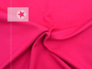 Jersey Stoff uni pink