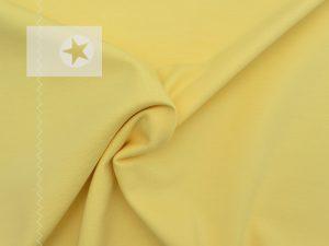 Jersey Stoff uni gelb