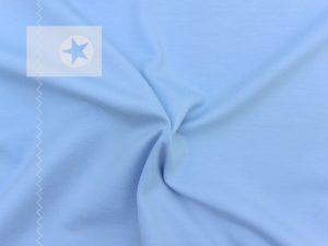 Jersey Stoff uni hellblau