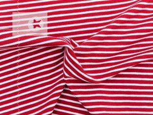 Jersey Streifen rot weiß