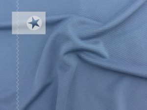 Modal Jersey uni taubenblau