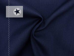 Baumwollstoff uni dunkelblau