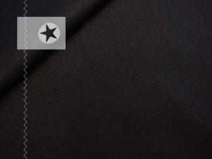 Baumwolle beschichtet schwarz