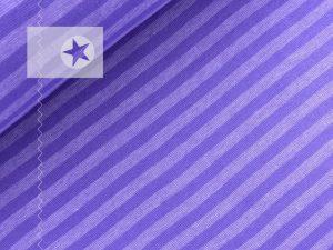 Bündchenstoff gestreift flieder lila