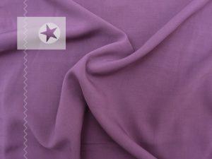 Viskose Stoff gewebt violett