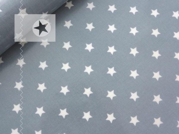 au maison Wachstuch Sterne grau