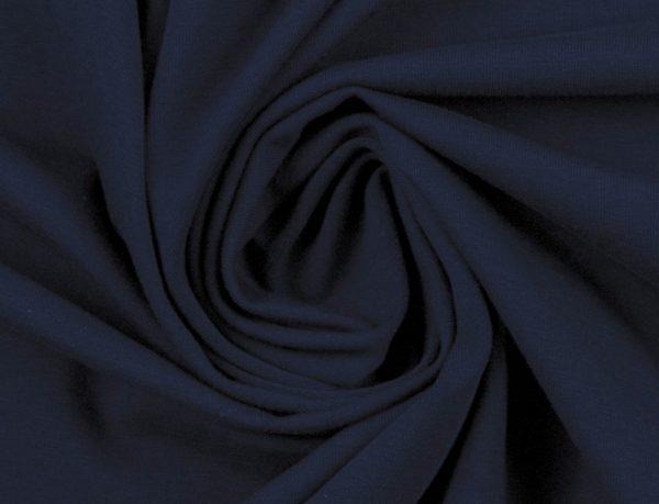 Baumwoll Jersey dunkelblau
