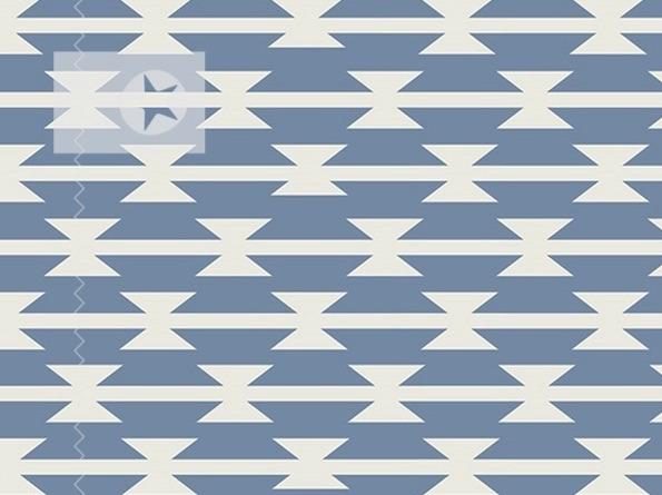 jersey stoff grafische muster blau - Grafische Muster