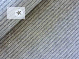 Jersey Streifen grau hellgrau
