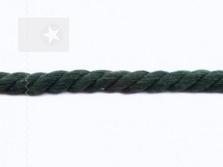 Dicke Hoodie Kordel gedreht 10 mm tannengrün