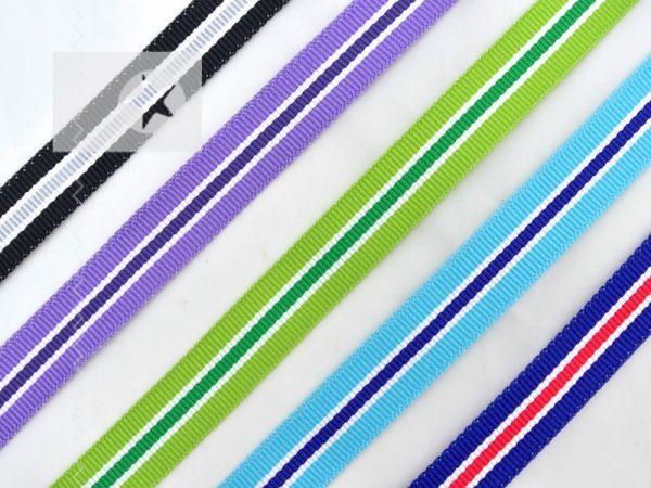 Hoodieband 15 mm Ripsband mehrfarbig