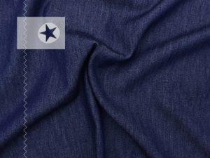 Jeansstoff leicht dunkelblau