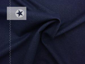 Jeans Jersey dunkelblau