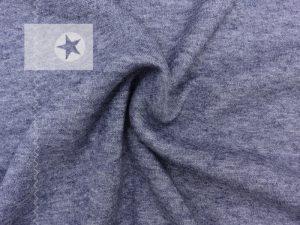 Viskose Strick Strickstoff dunkelblau meliert