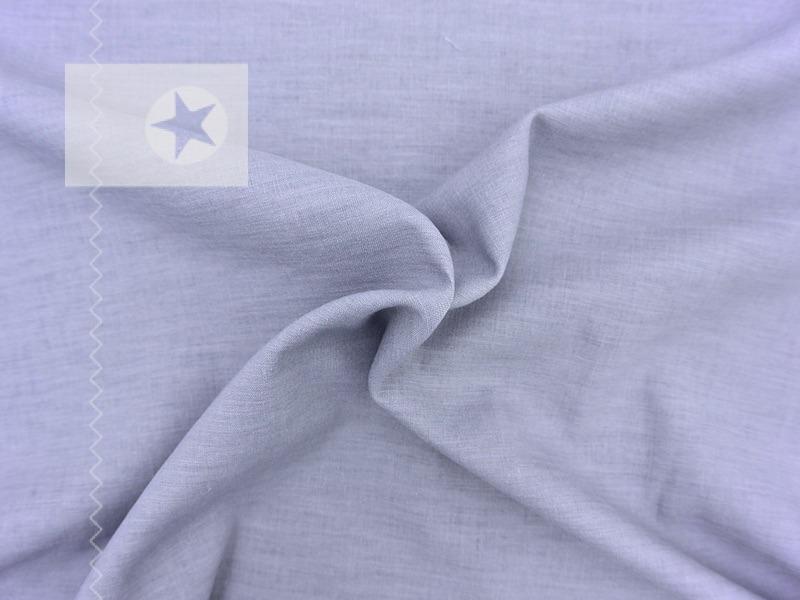 leinenstoff leinen viskose elastisch grau stoffe online shop clarasstoffe. Black Bedroom Furniture Sets. Home Design Ideas