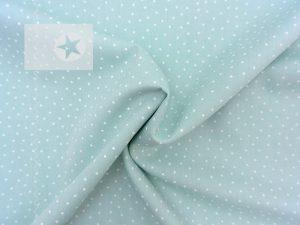 Baumwolle Sterne Sternchen mint