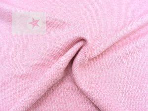 Stricksweat Marvin Strickstoff rosa
