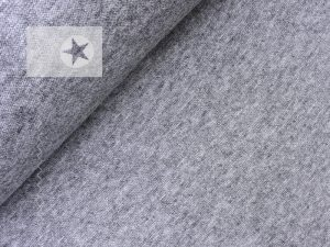 Viskose Strick Strickstoff grau meliert