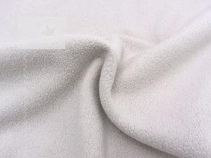 Baumwoll Fleece Stoff uni sand