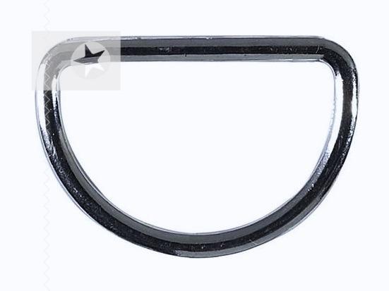 D-Ringe für Taschen 30 mm silber