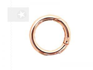 Taschenring 30 mm Metall roségold