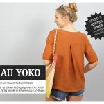 Frau YOKO Papier Schnittmuster Bluse