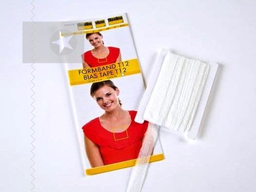 Vlieseline Formband 12 mm weiß