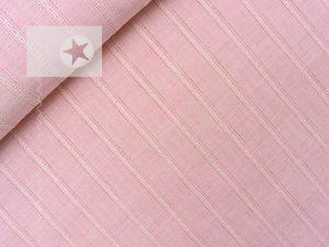 Blusenstoff Baumwolle gestreift Batist rosa