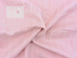 Musselin Stoff bio uni rosé