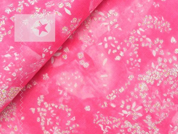 Musselin Stoff KOKKA pink perlmutt