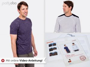pattydoo Schnittmuster Max Männershirt