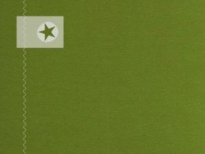 Bündchenstoff Schlauchware glatt kiwi