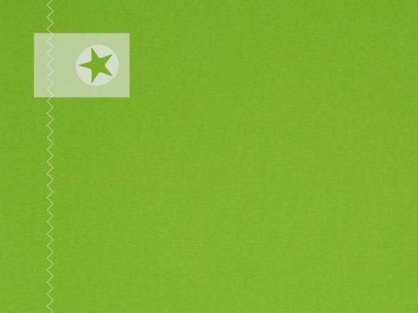 Bündchenstoff Schlauchware glatt hellgrün