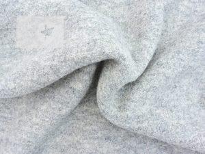 Wollwalk Stoff 100% Wolle grau