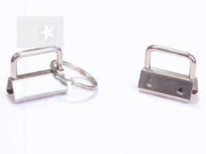 Schlüsselband Rohling 30 mm silber