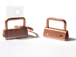Schlüsselband Rohling 30 mm roségold