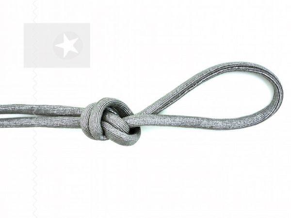 Kordel elastisch schlamm silber