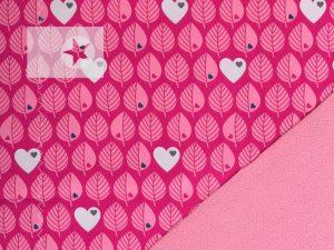 Softshell by Graziela Blätter pink