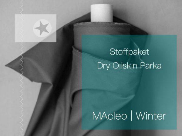 Stoffpaket Dry Oilskin Parka MAcleo Winter
