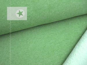 Lammfleece Stricksweat grün