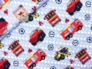 Jersey Stoff Feuerwehrmann Sam